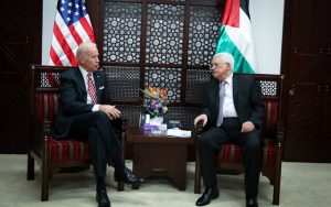 Joe Biden - Mahmoud Abbas