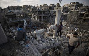 Destrucción en Gaza