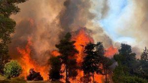 Incendio en Jerusalem