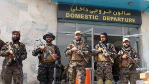 Talibanes en el aeropuerto