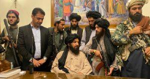 Conferencia de prensa de los talibanes