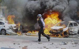 bombero israelí