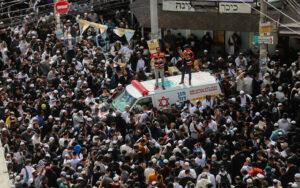 Judíos en la tumba de Rabino Najman