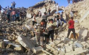 Escombros mezquita del profeta Younis