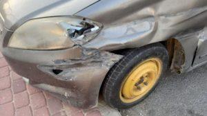 auto dañado