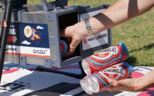 Drones delivery cerveza