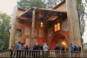La sinagoga plegable